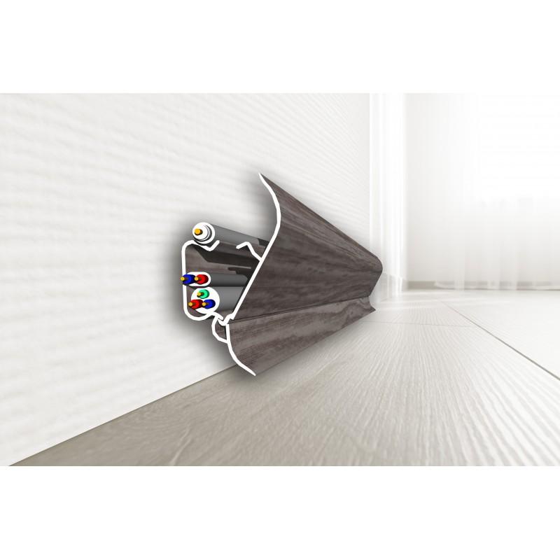 SKIRTING BOARD PVC SAN DECOR